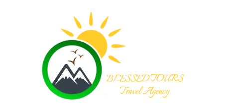 Logo for tourism company